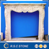 French style marble fireplace mantel in good price