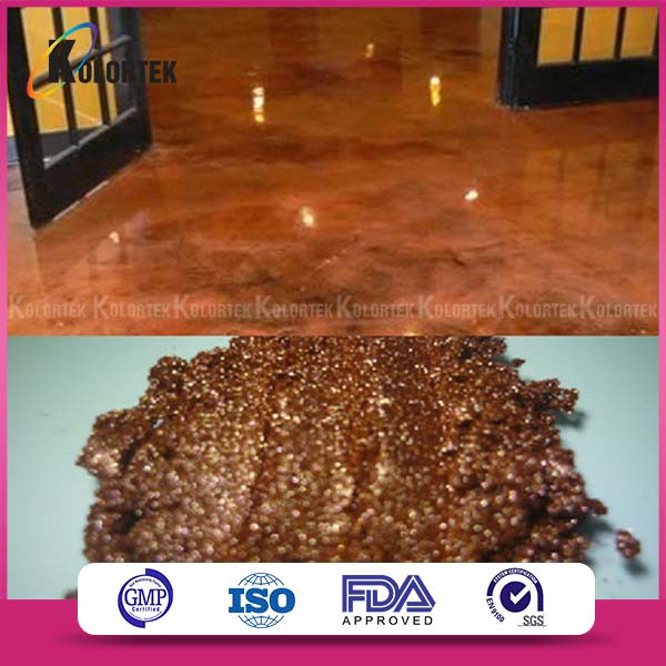 Popular Decorative Metallic Epoxy Floors Colors Pigments Supplier