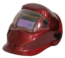 LYG 7413A auto darkening iron man helmet Solar Power custom flip up welding helmet