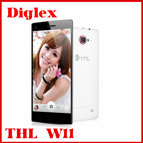 Wholesale Original Android Smart Phone thl w11 Mtk6589t 2GB Ram 32GB Rom 3g Wifi GPS Androd Dual Sim Phone