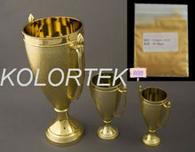 Kolortek gold metallic pearlescent pigment for paint-gold luster series