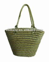 lady fashion straw bag