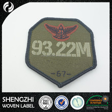 China factory wholesale embroidery patch woven