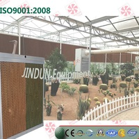 Customized Framed evaporative cooling pad for greenhouse, water cooling pad, Munters Cooling pad