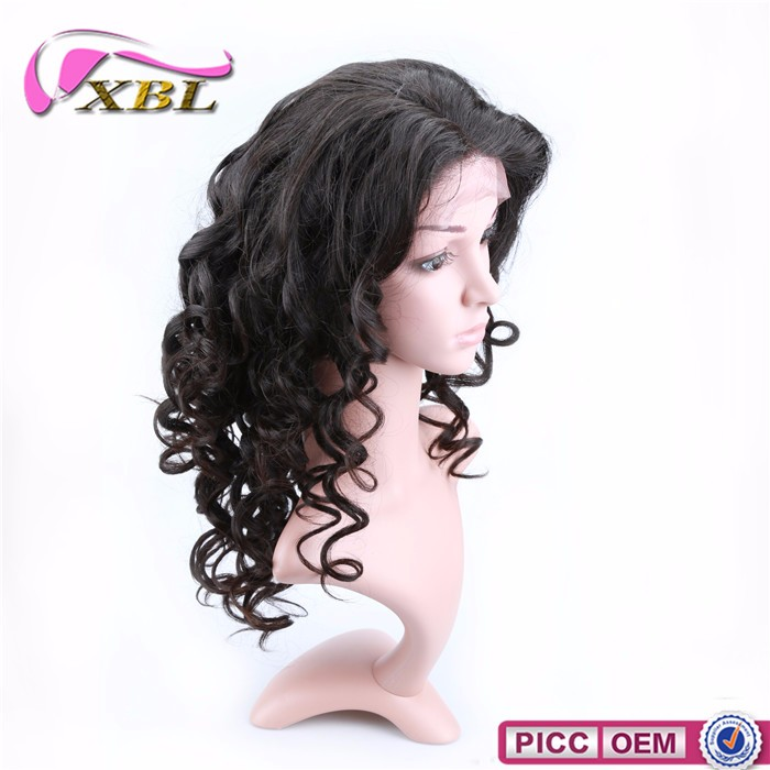 hot selling real human hair extension100 brazilian virgin hair lace wigs