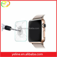 High quality 9 H 0.2mm ultra thin clear glass screen protector for apple watch