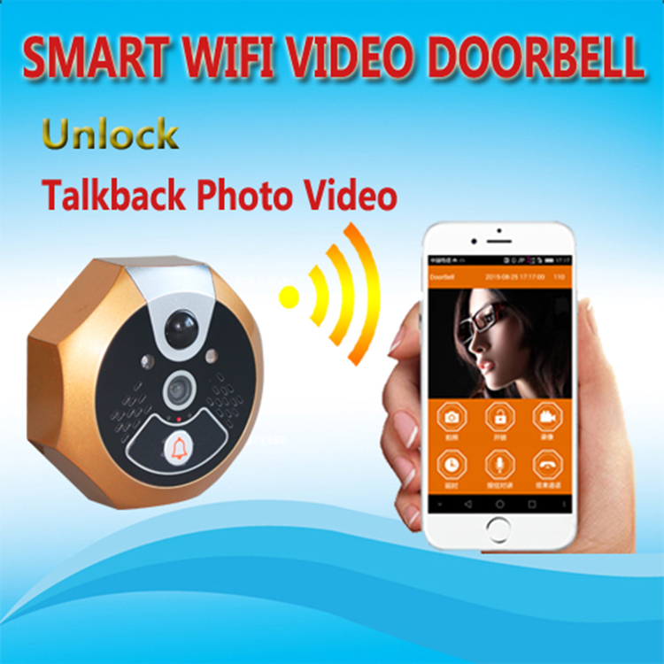 Smart home video door phone for multi apartment doorbell video intercom system