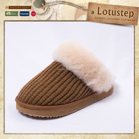 Parenting Chunky Knit Kids Footwear Wholesale with Cuff