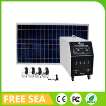 2017 New Product 150W Solar USB Power System For Home Fan TV Phone Charging