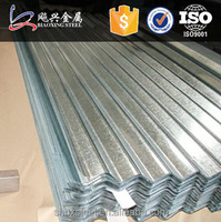 0.7MM Thick Aluminum Zinc Corrugated Steel Roofing Sheet