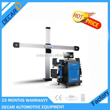 Hot sell automatic car machine to align wheels with 3D camera