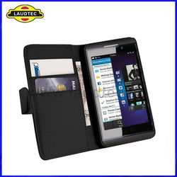 For Blackberry Z10 Wallet Case,Wallet Leather Case Cover for Blackberry Z10 BB Z10,More Colors Available,Laudtec