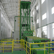 Cold rolled steel color coating production line