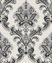 Luxury damask vinyl wallpaper 53cm peel and stick pvc wallpaper suppliers decorative wall paper home decoration