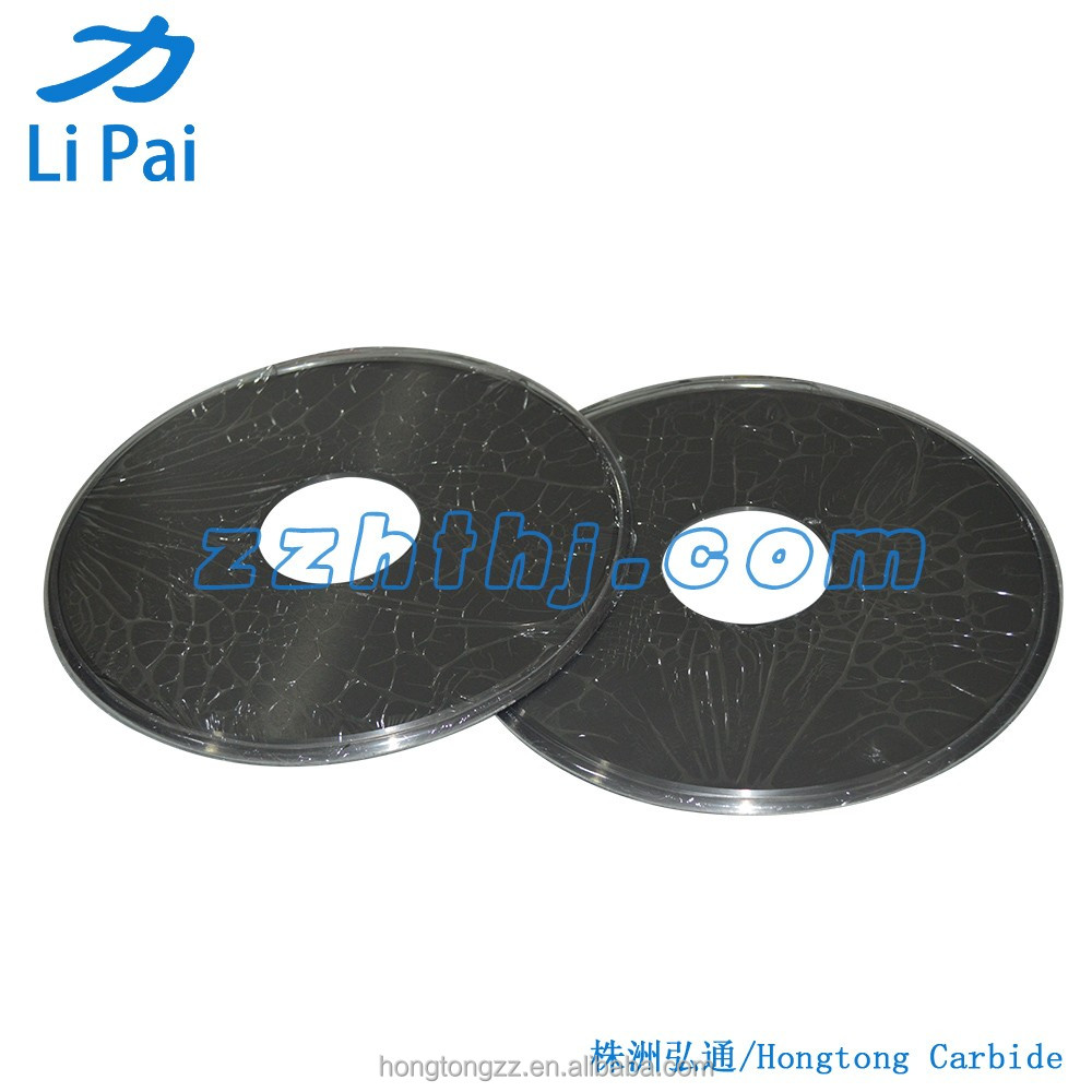 YG8 tungsten carbide disc cutter for cutting corrugated board / round blade