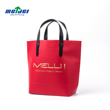 Eco-friendly recycled custom design decorative shopping retail packing paper bag