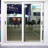 Best price for aluminum frame glass double entry door