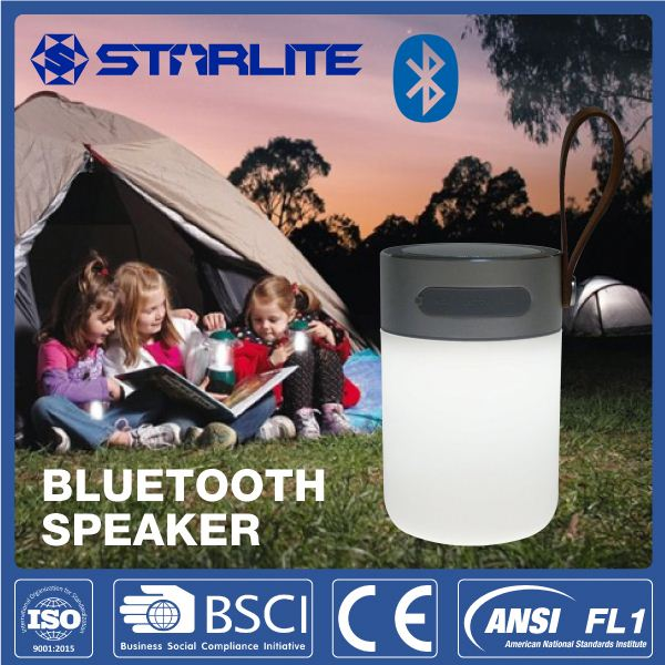 STARLITE rechargeable led lantern power bank and 2013 best bluetooth speaker