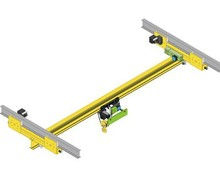 LX type 0.5-5t motor driven single beam suspension overhead crane