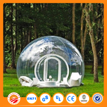 Wholesale price inflatable clear bubble cube tent for sale