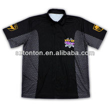 latest fashion sublimation motorcycle shirts customized