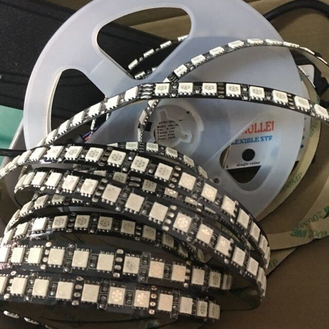 factory sale ! 5050 600leds /5m 120leds /m flexible led strip light <strong>rgb</strong> 12v single line ip20