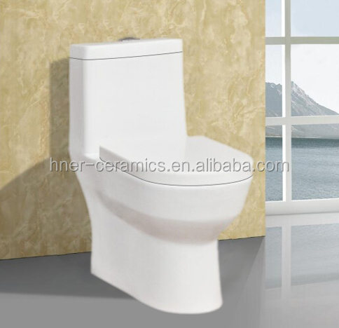 Wholesale price siphon one piece toilet,ceramic toilet bathroom,sanitary ware Siphonic One Piece toilet