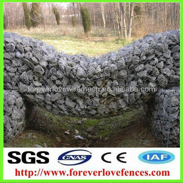 gabions/hexagonal wire mesh cages(Anping factory, China)