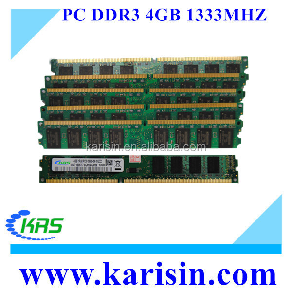 Alibaba wholesale ddr3 4gb 1333 1600 desktop computer parts