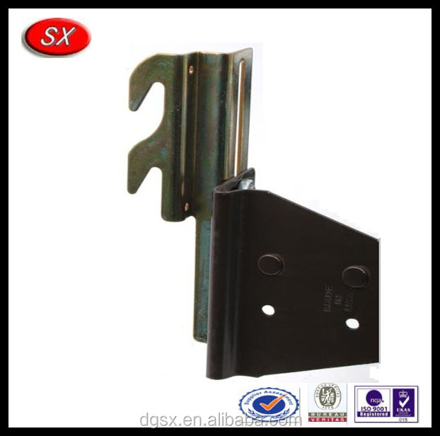 bolt-on to hook-on bed frame conversion brackets 1