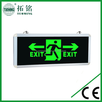 running man fire emergency exit sign led