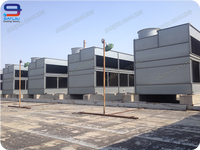 213 Ton Closed Circuit Cross Flow GHM-7175 Superdyma Water Cooling Tower Manufacturer for Condenser