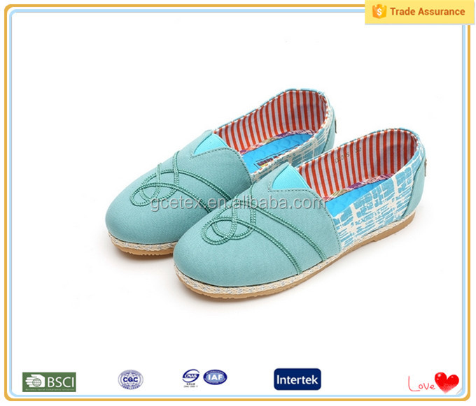 Fashion china factory Grass green summer new women shoes