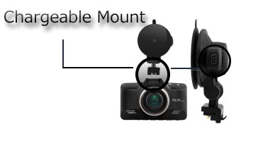 Chargeable mount