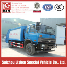 Compressible Garbage Truck Cheap Price 12 cbm Dongfeng Rubbish Compress Refuse Compactor