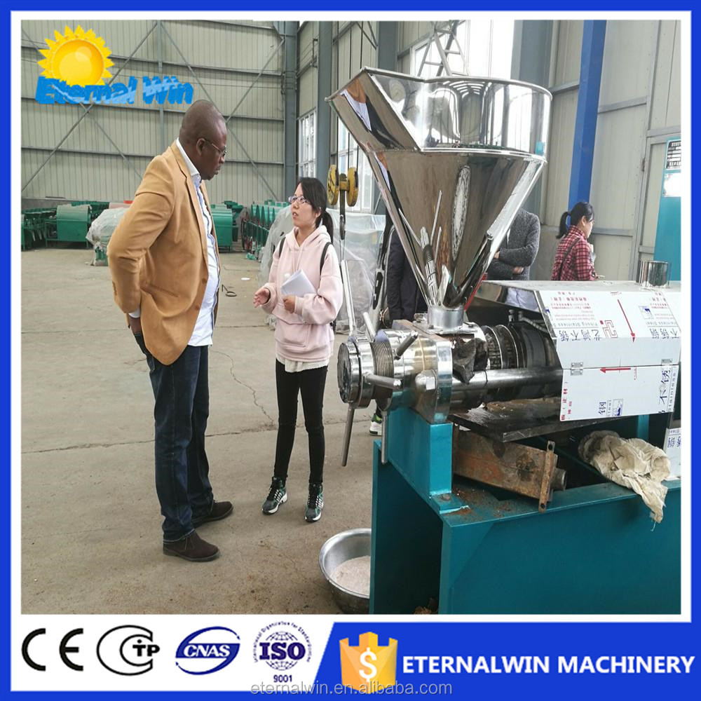 6YL-80 commercial use coconut sunflower soybean peanut rapeseed grape coconut oil production line edible oil press refining line