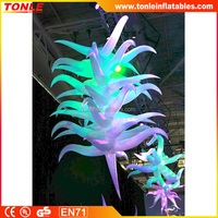 night club decor inflatable bent star for sale