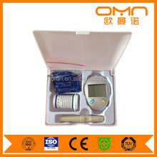 One step rapid detection glucometre true test diabetes management small digital glucometer sale with 50 free test strips lancets