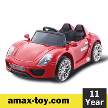 RR-11671038-Children battery remote control motorized toy car kids ride on car