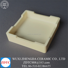 precision alumina smelting ceramic boat crucibles