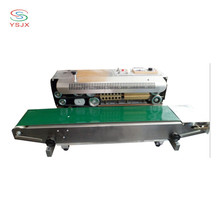 continuous band sealer 100mm/min with expiration date print