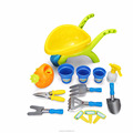 New outdoor pretend toys garden tools playset with 17PCS for kids