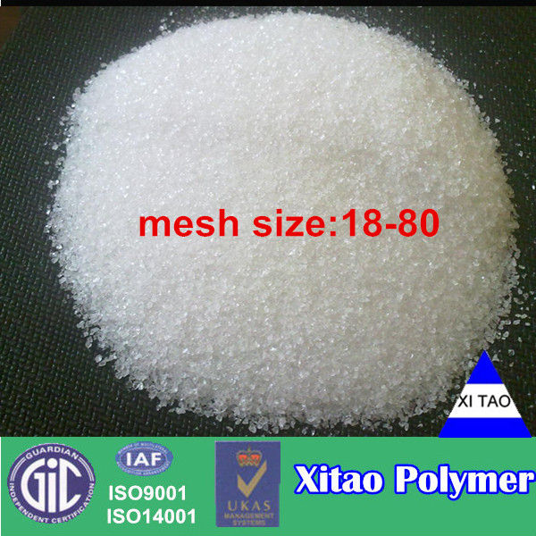 Slush powder/Super absorbent polymer/Water absorbent crystals