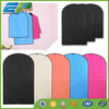 Colorful plastic suit cover with reinforced hole
