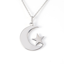 Religion jewelry allah muslim islamic pendant moon and star charm pendant