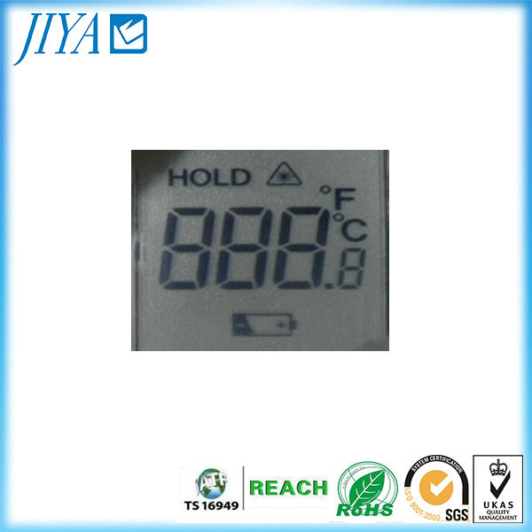 small size 3 digit LCD display