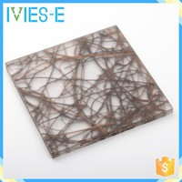 High plasticity low flammable eco-resin sandwich panel for ceiling