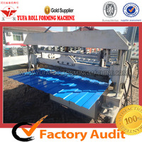 Steel roof tile roll forming machine C 8 automatic Profile Steel Roofing Tile Making Machine