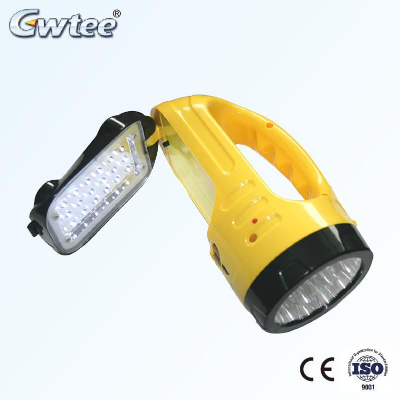 muiltple function led searchlight rechargeable lamps