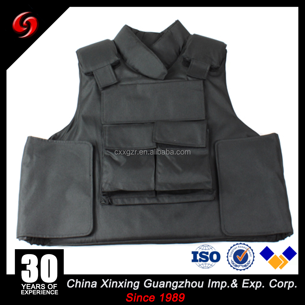 NIJ IIIA body armor/bulletproof vest/ballistic carrier for military